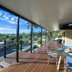 Flat Roof Patio with Cooldek