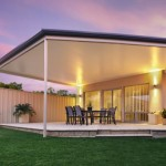 Outback Flat Roof Patio with Cooldek
