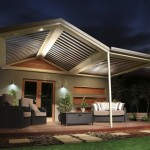 Gable Roof Steel Patio