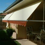 Pivot Arm Awning