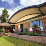 Stracto Outbac® Curved Clearspan Patio